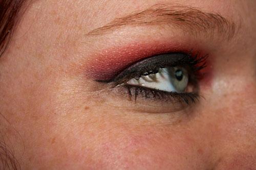Auge Gothic Schminke