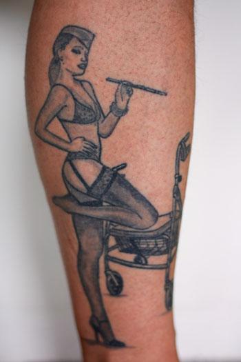 Tattoo mit Bedeutung: Pinup